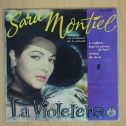 SARA MONTIEL - LA VIOLETERA + 3 - EP