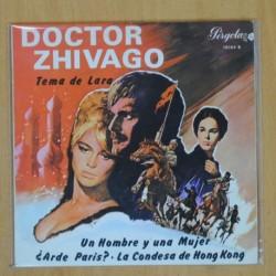 DOCTOR ZHIVAGO - TEMA DE LARA + 3 - EP