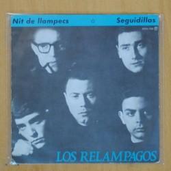 LOS RELAMPAGOS - NIT DE LLAMPECS / SEGUIDILLAS - SINGLE