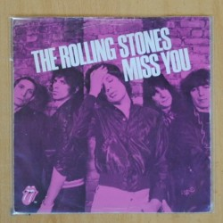 THE ROLLING STONES - MISS YOU / FAR AWAY EYES - SINGLE