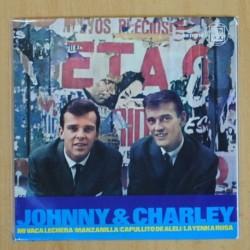 JOHNNY & CHARLEY - MI VACA LECHERA + 3 - EP