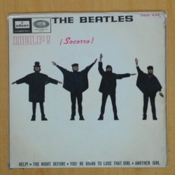 THE BEATLES - HELP ! SOCORRO + 3 - EP