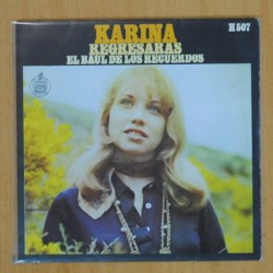 KARINA - REGRESARAS / EL BAUL DE LOS RECUERDOS - SINGLE