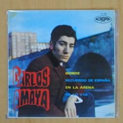 CARLOS AMAYA - DONDE + 3 - EP