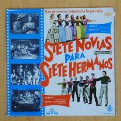SIETE NOVIAS PARA SIETE HERMANOS - LAMENTO + 3 - EP