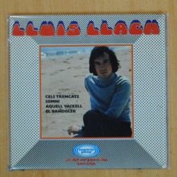 LLUIS LLACH - CELS TRENCATS + 3 - GATEFOLD - SINGLE