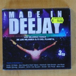 VARIOS - MADE IN DEEJAY - 3 CD