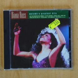 DIANA ROSS - MOTOWN´S GREATEST HITS - CD
