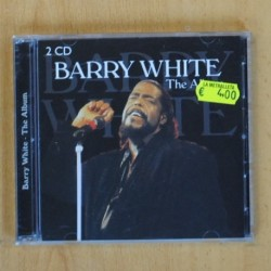 BARRY WHITE - THE ALBUM - 2 CD