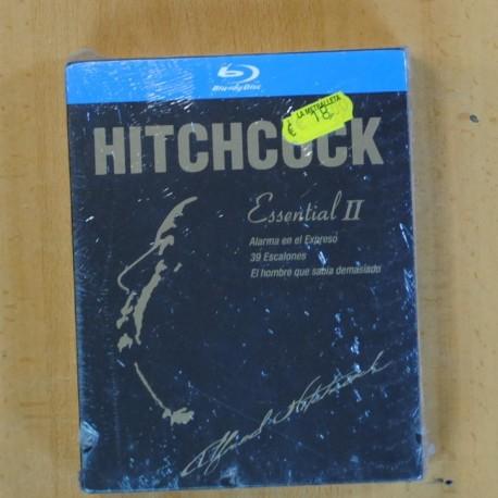HITCHCOCK - ALARMA EN EL EXPRESO / 39 ESCALONES / EL HOMBRE QUE SABIA DEMASIADO - BLU RAY