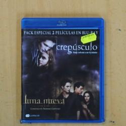 CREPUSCULO / LUNA NUEVA - BLU RAY