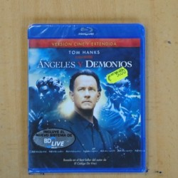 ANGELES Y DEMONIOS - BLU RAY