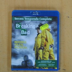 BREAKING BAD - TERCERA TEMPORADA - BLU RAY
