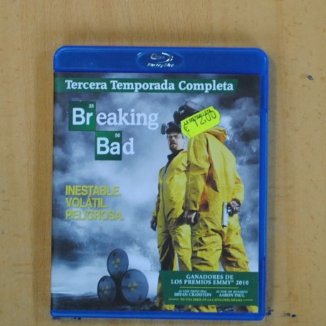 BREAKING BAD - TERCERA TEMPORADA - BLU RAY