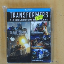 TRANSFORMERS 1 - 4 COLECCION COMPLETA - BLU RAY