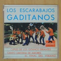 LOS ESCARABAJOS GADITANOS - CUPLES DE LOS GITANOS ERRANTES + 3 - EP