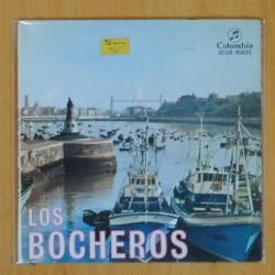 LOS BOCHEROS - EL ALDEANO TIRO LA PIEDRA + 3 - EP