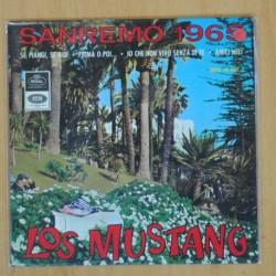 LOS MUSTANG - SAN REMO 1965 - EP