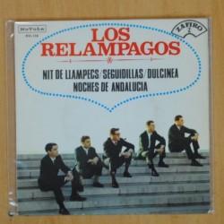 LOS RELAMPAGOS - NIT DE LLAMPECS + 3 - EP