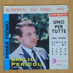 EMILIO PERICOLI - UNO PER TUTTE + 3 - EP