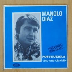 MANOLO DIAZ - POSTGUERRA + 2 - EP