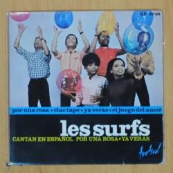 LES SURFS - POR UNA ROSA + 3 - EP