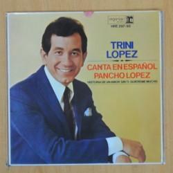 TRINI LOPEZ - PANCHO LOPEZ + 3 - EP