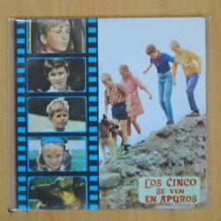LOS CINCO - LOS CINCO SE VEN EN APUROS - SINGLE