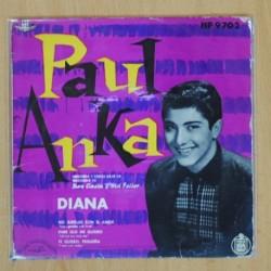 PAUL ANKA - DIANA + 3 - EP