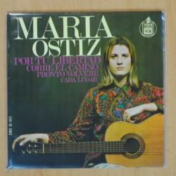 MARIA OSTIZ - POR TU LIBERTAD + 3 - EP