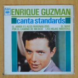 ENRIQUE GUZMAN - CANTA STANDARDS - EP