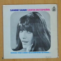 SANDIE SHAW - MAÑANA + 3 - EP