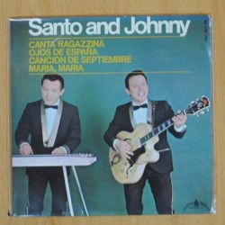 SANTO AND JOHNNY - CANTA RAGAZZINA + 3 - EP