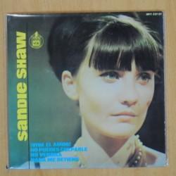 SANDIE SHAW - VIVA EL AMOR + 3 - EP
