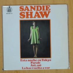 SANDIE SHAW - ESTA NOCHE EN TOKYO + 3 - EP