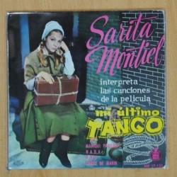SARITA MONTIEL - MI ULTIMO TANGO - EP