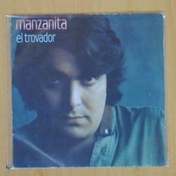 MANZANITA - EL TROVADOR - SINGLE
