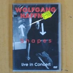 WOLFGANG HAFFNER - SHAPES LIVE IN CONCERT - DVD