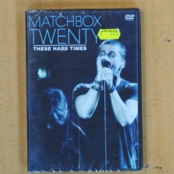 MATCHBOX TWENTY - THESE HARD TIMES - DVD