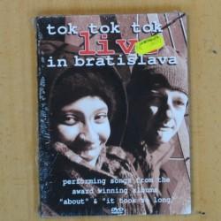TOK TOK TOK - LIVE IN BRATISLAVA - DVD