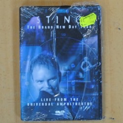 STING - THE BRAND NEW DAY TOUR - DVD