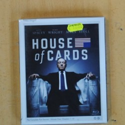 HOUSE OF CARDS - COMPLETE FIRST SEASON VOLUME ONE - BLU RAY