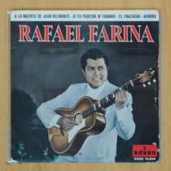 RAFAEL FARINA - A LA MUERTE DE JUAN BELMONTE + 3 - EP