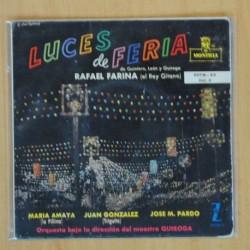 RAFAEL FARINA - LUCES DE FERIA - EP