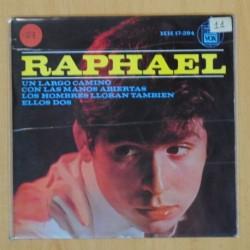 RAPHAEL - UN LARGO CAMINO + 3 - EP