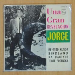 JORGE - DE OTRO MUNDO + 3 - EP