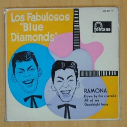 LOS FABULOSOS BLUE DIAMONDS - RAMONA + 3 - EP