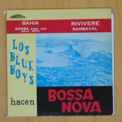 LOS BLUE BOYS - HACEN BOSSA NOVA - EP