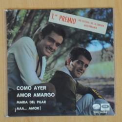 DUO DINAMICO - COMO AYER + 3 - EP