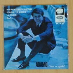 ADAMO - MIS MANOS EN TU CINTURA + 3 - EP